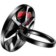 Baseus Wheel Ring Bracket für Smartphones und Tablets Schwarz - Handyhalter