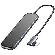 Baseus Multi-functional HUB (USB-C auf 4 x USB 3.0 + PD) Deep Gray - Port-Replikator