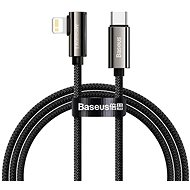 Baseus Elbow Fast Charging Data Cable Type-C to iP PD 20W 2m Black - Datenkabel
