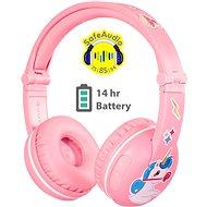 BuddyPhones Play, pink - Kabellose Kopfhörer