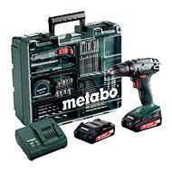 Metabo BS 18Li mobile Werkstatt, 2x2Ah - Akkubohrmaschine