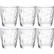 BORMIOLI DIAMOND Gläser 300 ml transparent, 6 Stück - Glas-Set