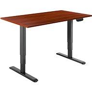 AlzaErgo Tisch ET1 NewGen schwarz + Tischplatte TTE-03 160x80cm braunes Furnier - Tisch
