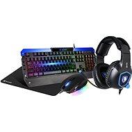 Sades Battle Ram US + Dazzle - Tastatur/Maus-Set