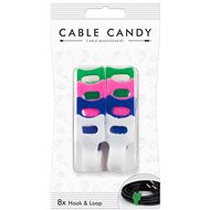 Cable Candy Hook and Loop 8 Stk. Farb-Mix - Kabel-Organizer