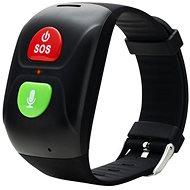 Canyon Smart SOS Armband für Senioren, schwarz - Smartwatch