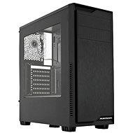 SilentiumPC Regnum RG1W rein schwarz - PC-Gehäuse