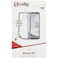 CELLY Laser für Samsung Galaxy S9 Silber - Handyhülle