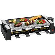 Clatronic RG 3678 Raclette Grill mit heißem Stein - Elektrogrill