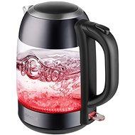 RK4082 Wasserkocher aus Glas - 1,7 Liter - dunkler Edelstahl - Wasserkocher