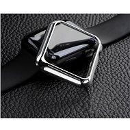 COTEetCI Polycarbonatgehäuse für Apple Watch 42 mm Silber - Schutzhülle