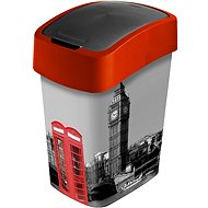 Curver Mülleimer 25 Liter Flipbin London - Abfalleimer