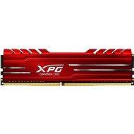 ADATA XPG 8 GB DDR4 2666 MHz CL16 GAMMIX D10, rot - Arbeitsspeicher