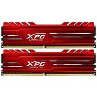ADATA XPG 16GB KIT DDR4 2666 MHz CL16 GAMMIX D10, rot - Arbeitsspeicher