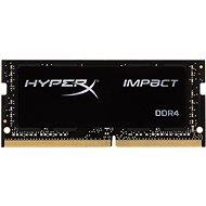 HyperX SO-DIMM 8 GB DDR4 2400 MHz Impact CL14 Schwarz Serie - Arbeitsspeicher
