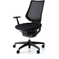 3DE ING Glider 360° - Schwarz - Bürostuhl