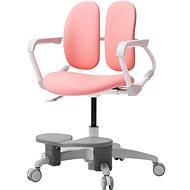 3DE Duorest Milky - Schreibtischstuhl für Kinder mit Fußstütze - rosa - Kinderstuhl
