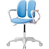 3DE Duorest Milky - Schreibtischstuhl für Kinder - blau - Kinderstuhl