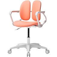 3DE Duorest Milky - Schreibtischstuhl für Kinder - lachsfarben - Kinderstuhl