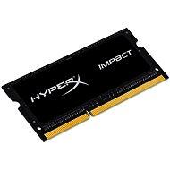 HyperX SO-DIMM 4 GB DDR3L 1600 MHz Impact CL9 Dual Spannung Schwarz Serie - Arbeitsspeicher