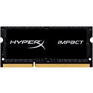 HyperX SO-DIMM 8 GB DDR3L 1866 MHz Impact CL11 Schwarz Serie - Arbeitsspeicher