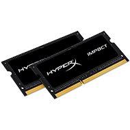 HyperX SO-DIMM 16GB KIT DDR3L 1600MHz Auswirkungen CL9 Dual Voltage Black Series - Arbeitsspeicher