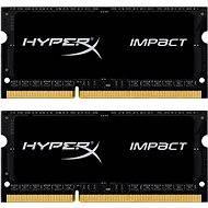 HyperX SO-DIMM 16 GB KIT DDR3L 1866 MHz Impact CL11 Schwarz Serie - Arbeitsspeicher