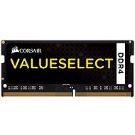 Corsair SO-DIMM 4GB KIT DDR4 2133MHz CL15 ValueSelect schwarz - Arbeitsspeicher