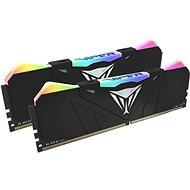 Patriot Viper RGB Series 16GB KIT DDR4 3200Mhz CL16 DDR4  schwarz - Arbeitsspeicher