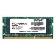 Patriot SO-DIMM 4GB DDR3 1600MHz CL11 Signature Line - Arbeitsspeicher
