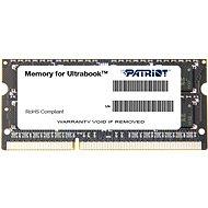 Patriot SO-DIMM 4 GB DDR3 1600 MHz CL11 Ultrabook Line - Arbeitsspeicher
