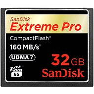 SanDisk Compact Flash 32 Gigabyte 1000X Extreme Pro - Speicherkarte
