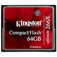 Kingston Kompakt Flash 64GB 266x Ultimative  - Speicherkarte