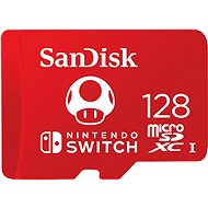 SanDisk MicroSDXC 128 GB Nintendo-Switch UHS-I (V30) U3 - Speicherkarte