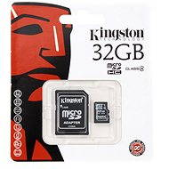 Kingston MicroSDHC+ 32GB Class 4 + SD Adapter - Speicherkarte