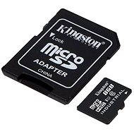 Kingston MicroSDHC 8 GB Class 10 UHS-I Industrial Temp + SD-Adapter - Speicherkarte