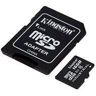 Kingston MicroSDHC 16 GB Class 10 UHS-I Industrial Temp + SD-Adapter - Speicherkarte