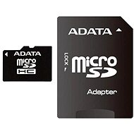 ADATA Micro SDHC 4GB Class 4 + SD-Adapter - Speicherkarte