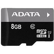 Speicherkarte ADATA MicroSDHC 8 GB Class 10 - Speicherkarte