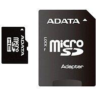 ADATA Micro SDHC 16 GB Class 4 + SD Adapter - Speicherkarte