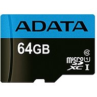 ADATA Premier MicroSDXC 64GB UHS-I Class 10 - Speicherkarte