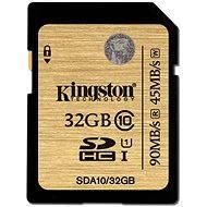 Kingston SDHC UHS-I 32 GB Klasse 10 - Speicherkarte