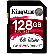 Kingston Canvas React SDXC 128GB A1 UHS-I V30