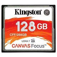 Kingston Kompakt Flash 128 GB Leinwandfokus - Speicherkarte