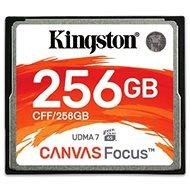 Kingston Kompakt Flash 256 GB Leinwandfokus - Speicherkarte