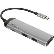 VERBATIM USB-C Multiport HUB USB 3.1 GEN 1/ 2x USB 3.0/ HDMI - Port-Replikator