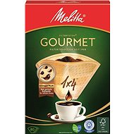 Melitta Filter 1x4/80 GOURMET Braun - Kaffeefilter