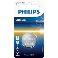 Philips CR2450 1 Stk in der Packung - Knopfbatterie