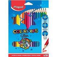 MAPED Color Peps, 18 Farben, dreieckig - Bundstifte