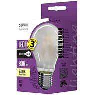 EMOS LED Glühbirne Filament matt A60 A++ 6,5W E27 warmes Weiß - LED-Birne